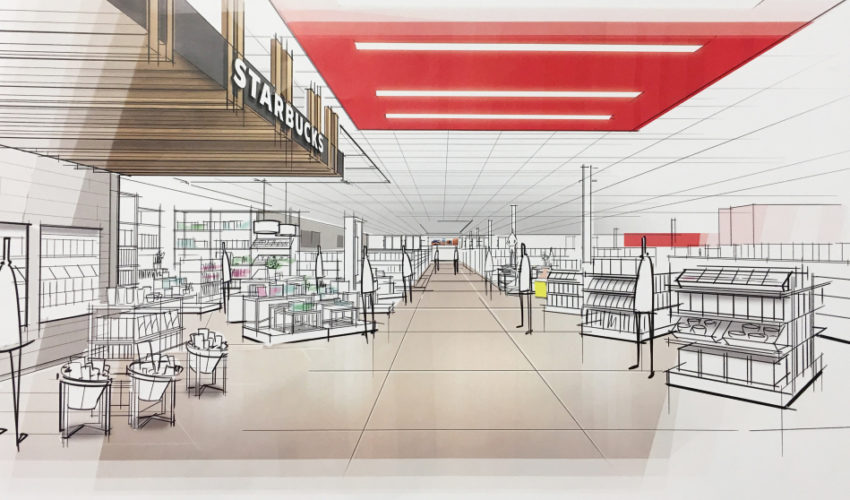 Target store redesign