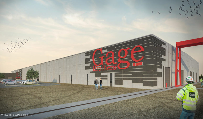 New Gage Brothers plant