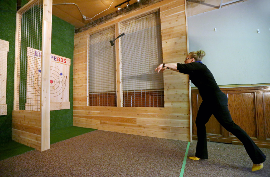 Escape 605 Expanding Downtown Adding Axe Throwing Siouxfalls Business