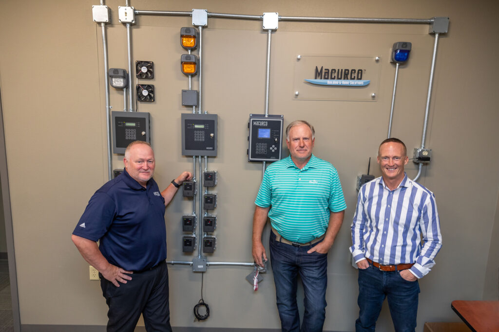 Macurco gas detection team