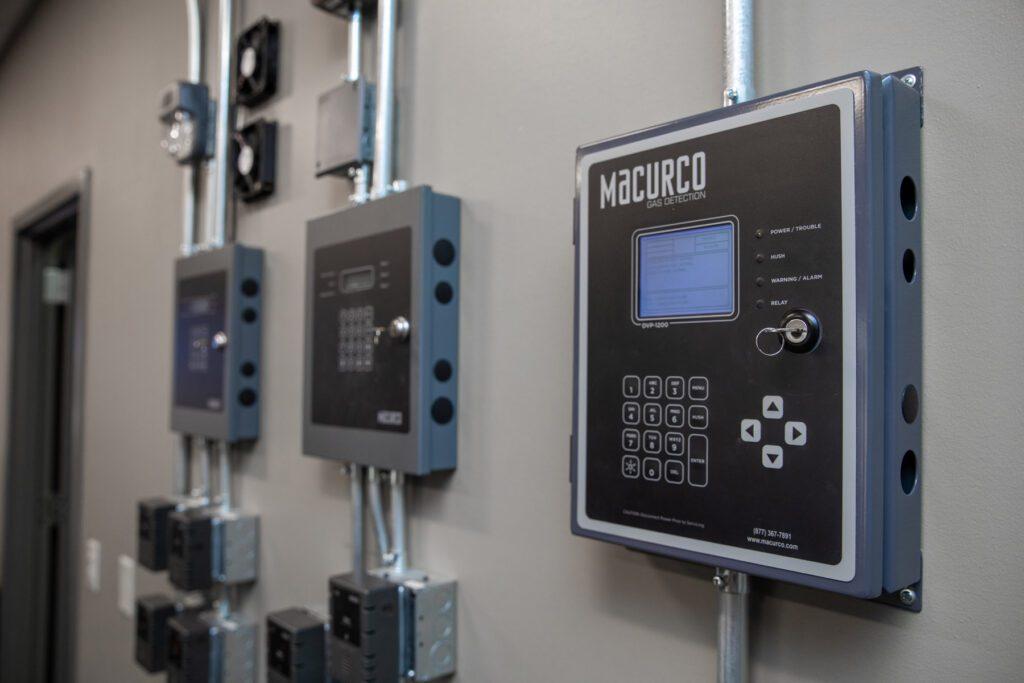 gas detection machine